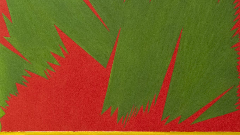 Heineken, mixed media painting