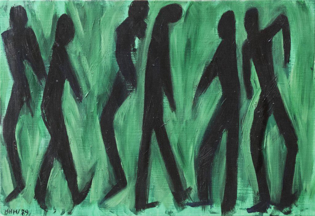 Dien Bien Phu, acrylic painting