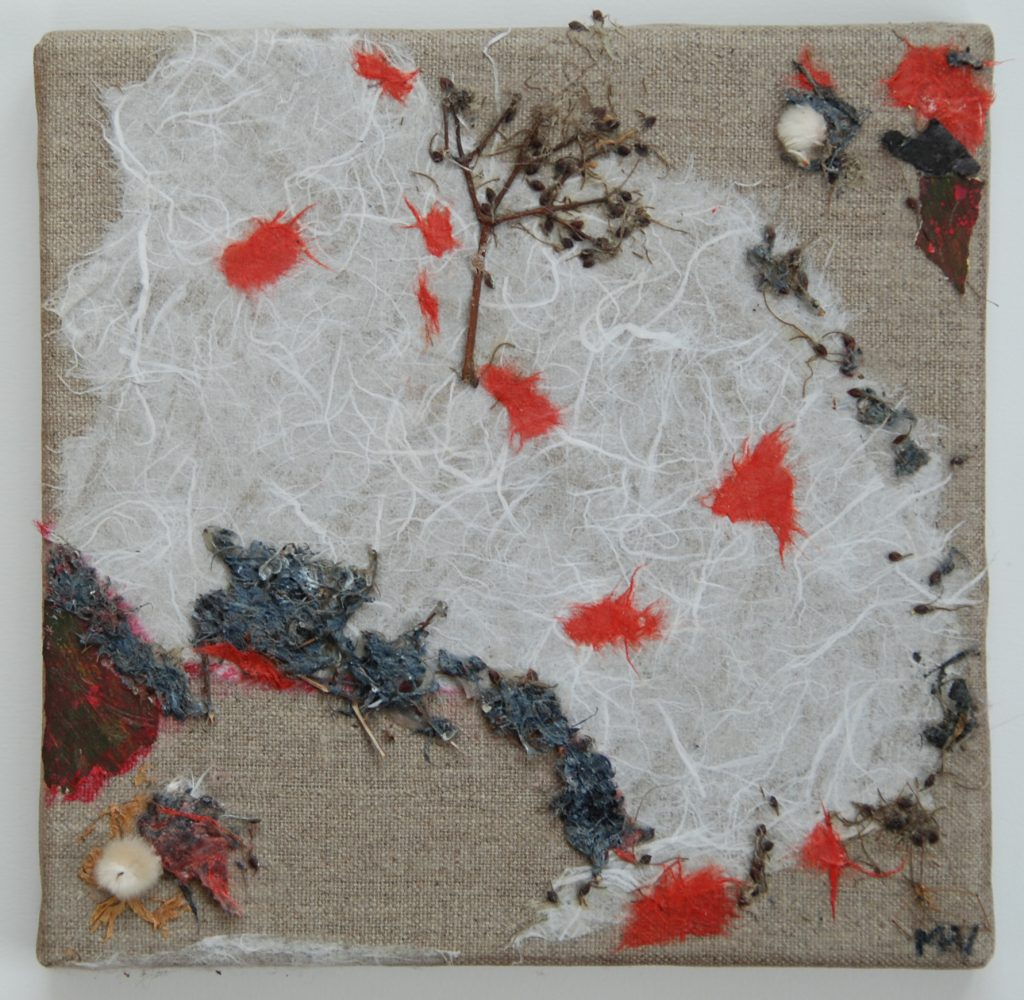 The cartography of oracle orchard island, mixedmedia painting